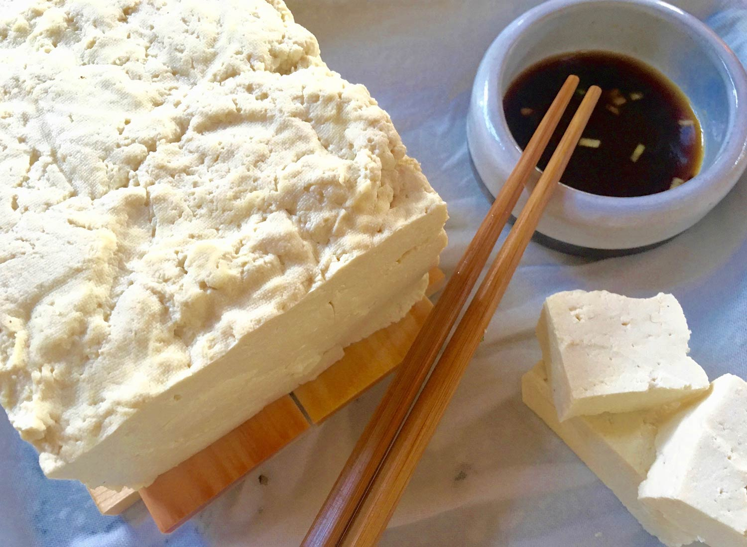 Food Lab at SHO: vegan gastronomy in a cold climate | homemade bean curd